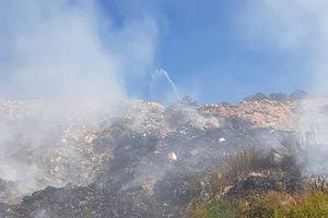 Bãi rác Cam Ly cháy 4 ngày, Giám đốc Sở TN&MT khẳng định không có