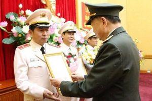 Giám đốc Công an Hải Phòng được thăng quân hàm thiếu tướng