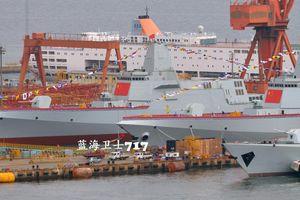 Trung Quốc năm 2019 hạ thủy 24 tàu chiến mặt nước có tổng lượng giãn nước 200 ngàn tấn