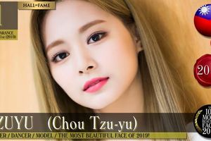 Tzuyu TWICE vượt Lisa giành danh hiệu Gương mặt đẹp nhất thế giới