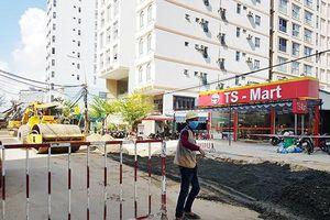 Đà Nẵng: Khi nào hoàn trả mặt đường khu vực ven biển cho dân đón Tết?