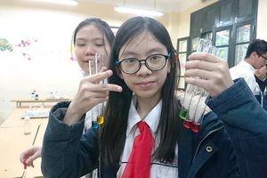Cô học trò đam mê khoa học