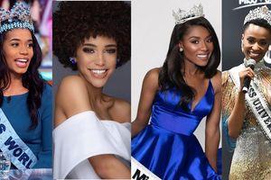 Dàn người đẹp da màu lên ngôi tại các cuộc thi nhan sắc quốc tế năm 2019