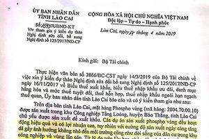 Đề xuất tăng thuế phốt pho vàng: Lào Cai 'làm khó' doanh nghiệp