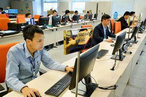 Trực điều hành khai thác tập trung tại AOCC Nội Bài