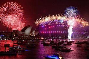 Khoảnh khắc đón chào năm mới 2020 trên toàn thế giới