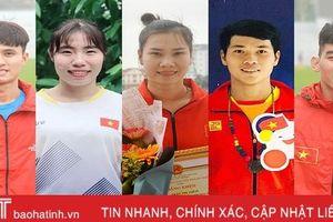 VĐV giành huy chương SEA Games 30 tin vào khởi sắc của thể thao Hà Tĩnh