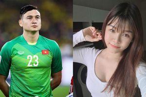 Văn Lâm và bạn gái Yến Xuân tạm biệt gia đình ở Nga