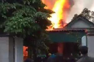 Hà Tĩnh: Hỏa hoạn thiêu rụi ngôi nhà của gia đình nông dân