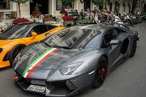 Siêu xe Lamborghini Aventador LP700-4 Novitec Torado tại Sài Gòn