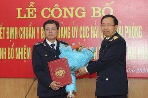 Ông Nguyễn Duy Ngọc giữ chức vụ Cục trưởng Cục Hải quan Hải Phòng