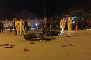 Vĩnh Phúc:2 xe máy đâm nhau trực diện, 5 người không đội mũ bảo hiểm thương vong