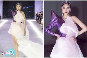 'Mẹ bỉm sữa' Lan Khuê lần đầu tái xuất tỏa sáng như nữ thần trong show thời trang của NTK Ivan Trần