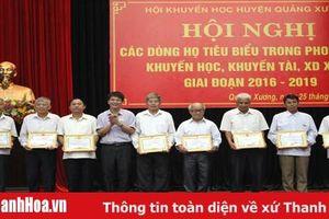 Hiệu quả xây dựng dòng họ học tập ở huyện Quảng Xương