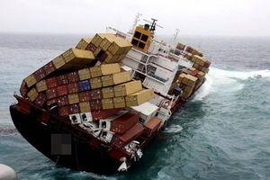 Hơn 10.000 tấn hàng hóa bị 'nhấn chìm' do tai nạn hàng hải