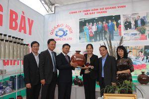 Gia Lâm khai trương khu trưng bày sản phẩm nông nghiệp - làng nghề, sản phẩm OCOP