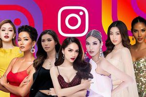 7 nàng hậu hot nhất Instagram: Hương Giang dẫn đầu, H'Hen Niê - Hoàng Thùy tăng vọt sau Miss Universe