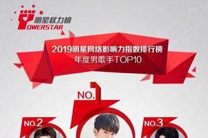Top nghệ sĩ của năm 2019: Tiêu Chiến, Dịch Dương Thiên Tỉ và Dương Tử đứng nhất