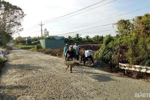 Bạc Liêu tập trung duy tu, sửa chữa 13 tuyến đường do tỉnh quản lý