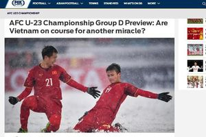 Báo châu Á: 'U23 Việt Nam sẽ tạo phép màu khác tại VCK châu Á?'