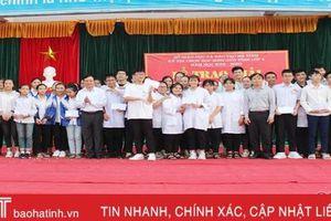 Trao 16 giải nhất phần thi đồng đội Kỳ thi học sinh giỏi lớp 9 ở Hà Tĩnh