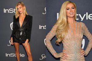 Chân dài Hailey Birber ngực phẳng lì đọ sắc cùng tiểu thư tóc vàng Paris Hilton
