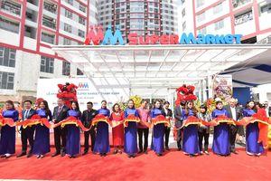 MM Super Market Thanh Xuân hút khách đến mua sắm