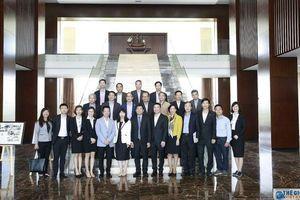 Đoàn Trưởng cơ quan đại diện Việt Nam làm việc tại tỉnh Hải Dương