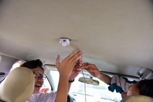 Thiết bị cảnh báo trẻ em bị bỏ quên trên xe ô tô của hai nam sinh Quảng Ninh