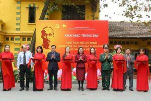 Trưng bày hơn 90 ảnh tư liệu quý về 'Chủ tịch Hồ Chí Minh – Người sáng lập, lãnh đạo và rèn luyện Đảng cộng sản Việt Nam'