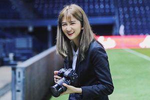 Hot girl Thái dẫn đoàn U23 Việt Nam chúc thầy trò HLV Park thắng UAE