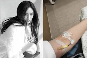 Dương Mịch khiến fan lo lắng khi lộ ảnh truyền dịch trong bệnh viện
