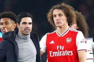 HLV Arsenal hết lời khen ngợi 'lão tướng' David Luiz