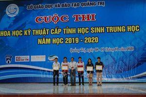 Nhiều phát minh sáng chế của học sinh Quảng Trị trong cuộc thi khoa học kỹ thuật