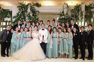 Đám cưới mỹ nhân Thái Lan sở hữu dàn phù dâu cùng khách mời toàn nhân vật đình đám nhất Tbiz