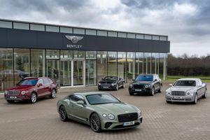 Bentley bán hơn 11.000 chiếc xe sang trong năm 2019