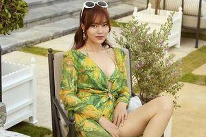 Ninh Dương Lan Ngọc lại khiến fan 'mắt tròn mắt dẹt' vì khoe dáng trong bộ bikini gợi cảm
