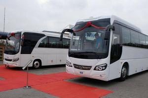 Daewoo Việt Nam ra mắt hai mẫu xe khách cỡ lớn, giá từ 1,87 tỷ đồng