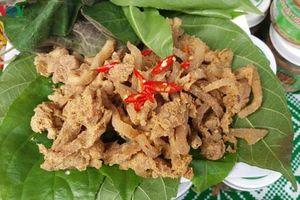 Đặc sản thịt chua của người Mường ở Phú Thọ