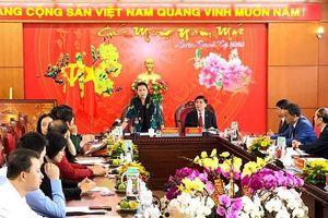 Chủ tịch Quốc hội Nguyễn Thị Kim Ngân làm việc tại Đắk Lắk