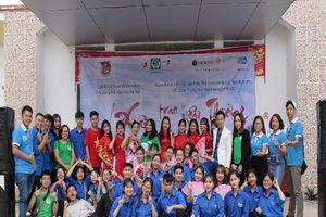 Cùng Zila VietNam và Đại học Văn hóa Hà Nội mang 'Xuân trao yêu thương 2020' đến với bệnh viện Phong Ba Sao