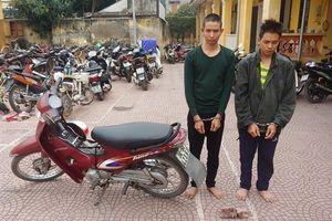 Hải Dương: Hai đối tượng cướp xe ôm sa lưới sau 4 ngày lẩn trốn