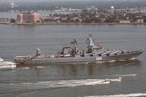 Chưa kịp tới bảo vệ Iran, tuần dương hạm Nga đã hư hỏng nặng