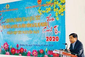 Bộ trưởng Nguyễn Chí Dũng thăm, tặng quà tết gia đình chính sách, hộ nghèo tại Quảng Trị, Thừa Thiên Huế