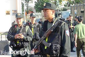 Tăng cường 400 cảnh sát cơ động để trấn áp tội phạm