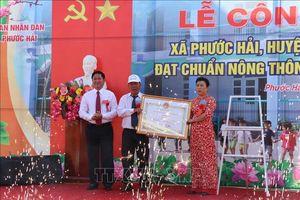 Ninh Thuận công nhận hai xã bãi ngang đầu tiên đạt chuẩn nông thôn mới