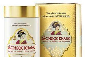 Xôn xao thông tin sản phẩm Sắc Ngọc Khang bị thu hồi: Công ty Hoa Thiên Phú nói gì?