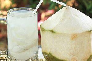 Những công dụng bất ngờ của nước dừa đối với sức khỏe