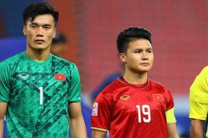 Quang Hải và đồng đội quyết tâm ở trận gặp U23 Triều Tiên