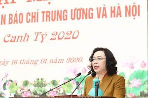 Phó Bí thư Thường trực Thành ủy Ngô Thị Thanh Hằng: Báo chí góp phần gìn giữ sự đồng thuận xã hội